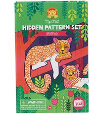 Tiger Tribe Colouring Set - Hidden Patterns - Animals