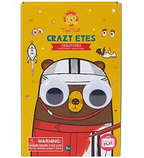 Tiger Tribe Colouring Set - Crazy Eyes - Creatures