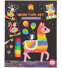 Tiger Tribe Tape Art - Neon - Electric Animals