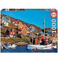 Educa Puzzle - 1000 Pieces - Nordic Houses