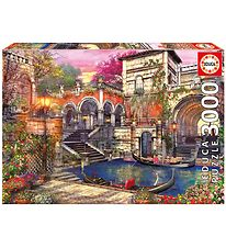 Educa Puzzle - 3000 Pieces - Venice Courtship