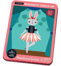 Mudpuppy Magnetic Figures - Woodland Ballet