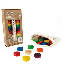 Milaniwood Wooden Game - Colour Tower