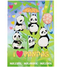 Karrusel Forlag Colouring Book - I Love Pandas