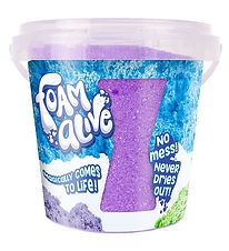 Foam Alive Bucket - 200g - Purple