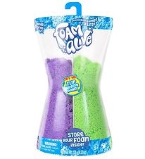Foam Alive Hourglass - 100 g - Purple/Green