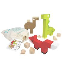 Milaniwood Stacking Blocks - Animals