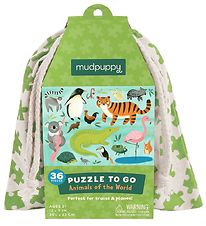 Mudpuppy Puzzle To Go - 36 pcs - Animals Of The World