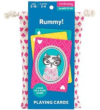 Mudpuppy Playing Cards - Rummy