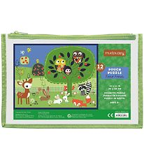 Mudpuppy Puzzle 12 Pieces - Forest Friends