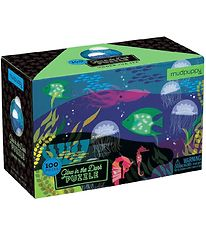 Mudpuppy Glow In The Dark Puzzle - 100 pcs - Under the Sea