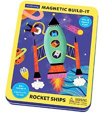 Mudpuppy Magnetic Build-It - Rocket Ships