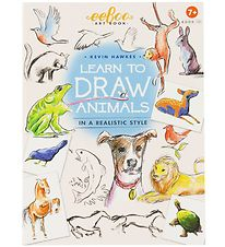 Eeboo Book - Learn To Draw - Animals