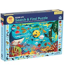 Mudpuppy Puzzle - Search And Find - 64 pcs - Ocean Life
