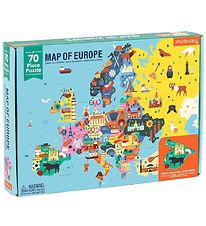 Mudpuppy Puzzle - 70 pcs - Map Of Europe
