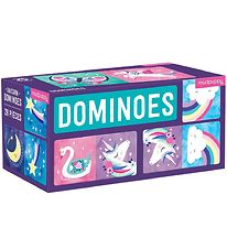 Mudpuppy Dominoes - Unicorn
