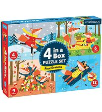 Mudpuppy 4-in-1 Puzzle - Four Seasons
