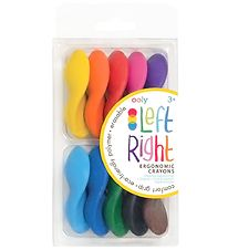 Ooly Crayon - Left Right - 10 pack - Multicolored