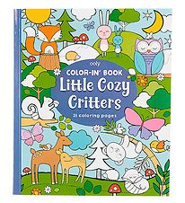 Ooly Colouring Book - Little Cozy Critters
