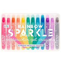 Ooly Crayons - Watercolor - Rainbow Sparkle - 12 pcs