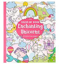 Ooly Colouring Book - Enchanting Unicorns