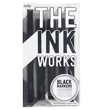 Ooly Markers - The Ink Workers - 5-pack - Black