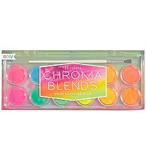 Ooly Watercolours - Chroma Blends - 12 pcs - Neon