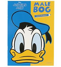 Forlaget Carlsen Colouring Book - Donald Duck w. Stickers