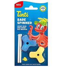 Tinti Bath Colour - Spinner - 2 pcs - Blue/Yellow