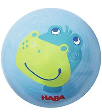 Haba Wooden Ball for Ball Track - Blue w. Dragon