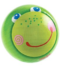 Haba Wooden Ball for Ball Track - Green w. Fabian Frog