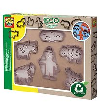 SES Creative ECO Play Dough Cutters - 6 pcs
