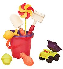 B. toys Bucket Set - Red