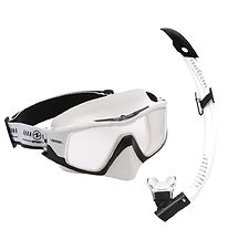 Aqua Lung Snorkeling Set - Combo Versa Adult - White