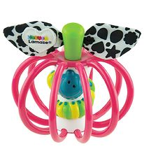 Lamaze Clutching Rattle Apple - Pink