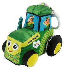 Lamaze Rattle - John Deere Tractor - Green/Yellow