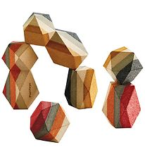 PlanToys Geometric Rocks - Nature