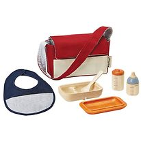 PlanToys Doll Feeding Set - Red