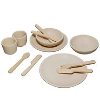 PlanToys Dinner Set - Nature