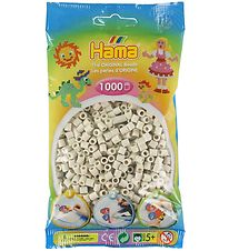 Hama Midi Beads - 1000 pcs - Chalk