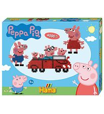Hama Midi Bead Set - 4000 pcs - Peppa Pig
