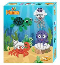 Hama Midi Bead Set - 2500 pcs - Sea Creatures