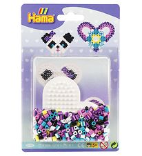 Hama Midi Bead Set - Small Heart - Multicoloured
