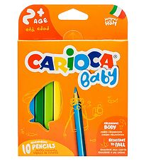 Carioca Baby Pencils - 10 pcs - Multicoloured