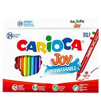 Carioca Joy Markers - 24 pcs - Multicoloured
