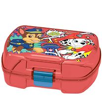 Paw Patrol Lunchbox - Transparent Red