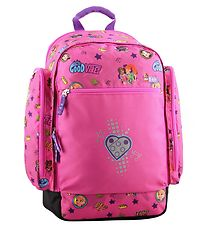 Lego School Backpack - Friends - Good Vibes - Pink