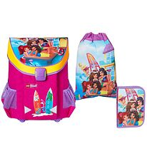 Lego School Backpack Set - Friends - Beach House - Pink