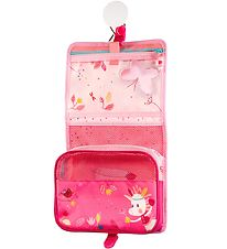 Lilliputiens Toiletry Bag - Louise - Rose w. Forest