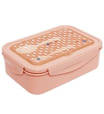 Petit Monkey Lunchbox w. Cutlery - Bento - Peach